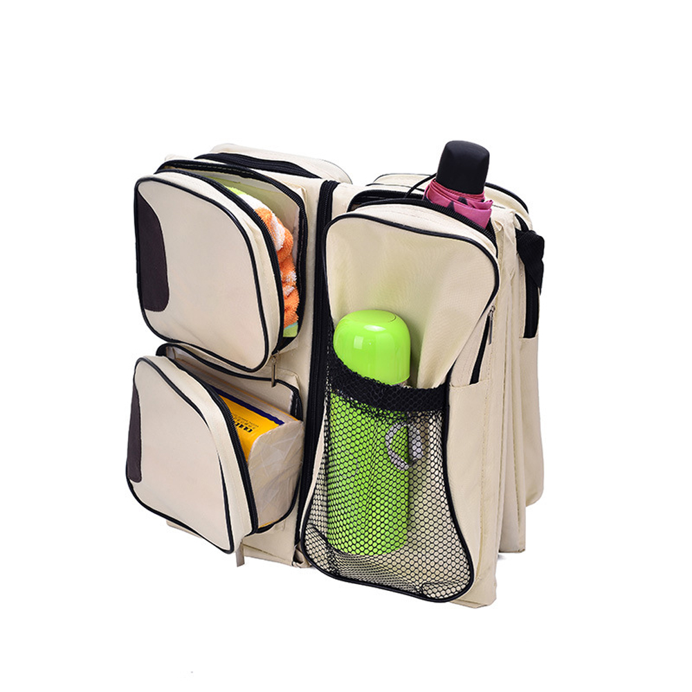 1pc Multi-function Baby Diaper Bag Portable Infant Travel Bassinet Carrycot Baby Bed Nappy Changing Tote Bags1pc Multi-function Baby Diaper Bag Portable Infant Travel Bassinet Carrycot Baby Bed Nappy Changing Tote Bags