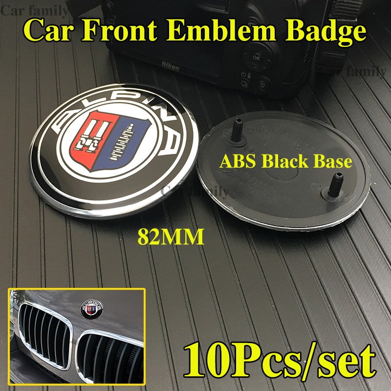 BMW 1M M2 M3 M4 M5 M6 Series Models 82mm Bonnet Badge Blue and White