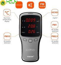 Детектор воздуха wp6910 pm10 pm25 устройство 6 в 1 с перезаряжаемой
