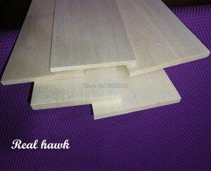Image 3 - 10pcs 500x100x0.75/1/1.5/2/2.5/3/4/5mm AAA+ Model Balsa wood sheets for DIY RC model wooden plane boat material