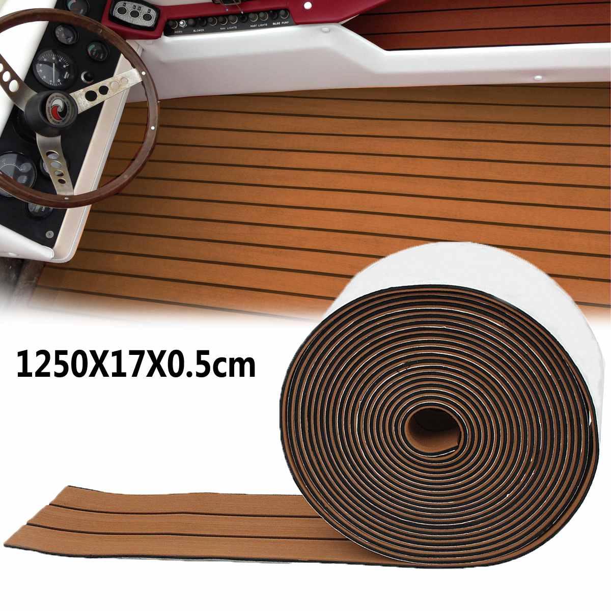 1250x17x0.5 cm Long marron EVA mousse bateau plancher Faux teck platelage tapis tapis en gros livraison directe1250x17x0.5 cm Long marron EVA mousse bateau plancher Faux teck platelage tapis tapis en gros livraison directe
