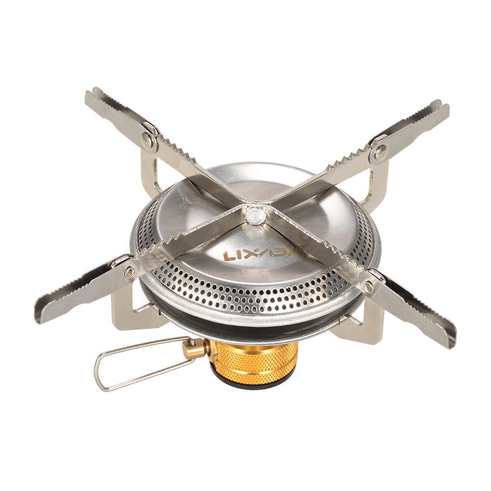 Folding mini Gas-Burner Fishing Outdoor Cooking Camping Picnic Cook Stove New