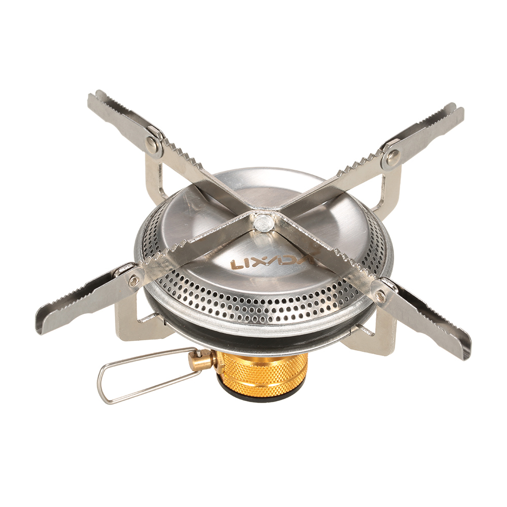 Lixada Ultralight Portable 3500w Outdoor Camping Gas Stove Hiking Backpacking Picnic Cooking Stove Outdoor Cookware Great Varieties