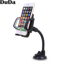 Long Arm Universal Car Phone Holder Dashboard Windscreen Mount for iPhone X XS Max XR 8 Plus 7 Plus 6 Plus Samsung S9 Plu S8 S7 raxfly magnetic car phone holder for iphone xs max xr xs x 8 7 plus 6s car phone holder smartphone for samsung s10 s9 s8 plus s7