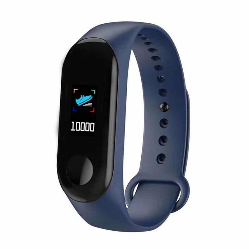 Smart Band Watch Bracelet Wristband Fitness Tracker Blood Pressure Heart Rate No USB Charging Line