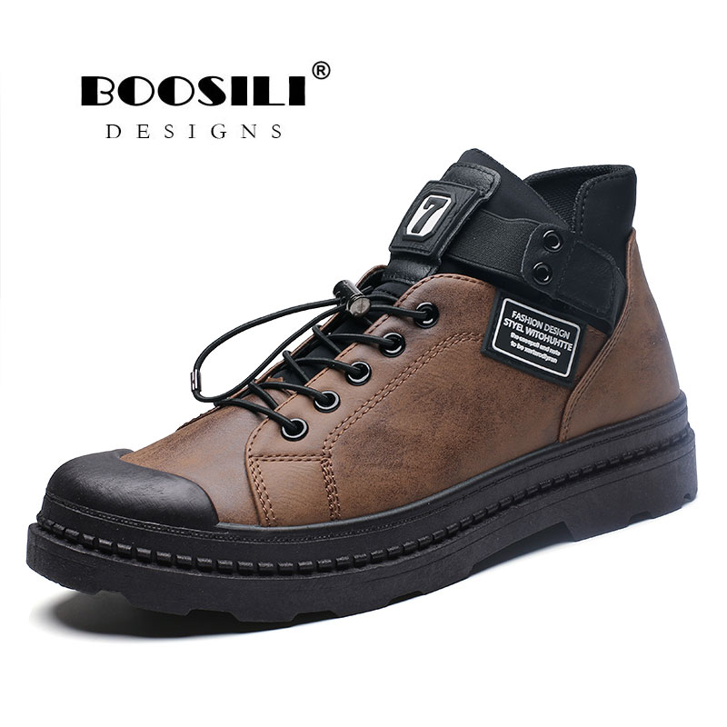 Botas Masculina Winter Boots Hombre Bota Promotion Men Plush Warm 2019 New Mens Cashmere Shoes High Quality