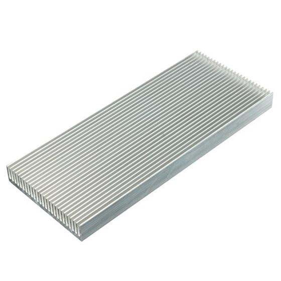 Aluminum Heat Sink Heatsink For High Power LED Amplifier Transistor 100x41x8mm