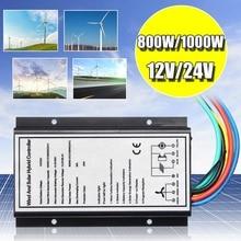 12 В/24 В 30A 500 Вт/1000 Вт Водонепроницаемый ветряной Солнечный контроллер генератор заряда 400 Вт/800 Вт ветер и светильник гибридный регулятор