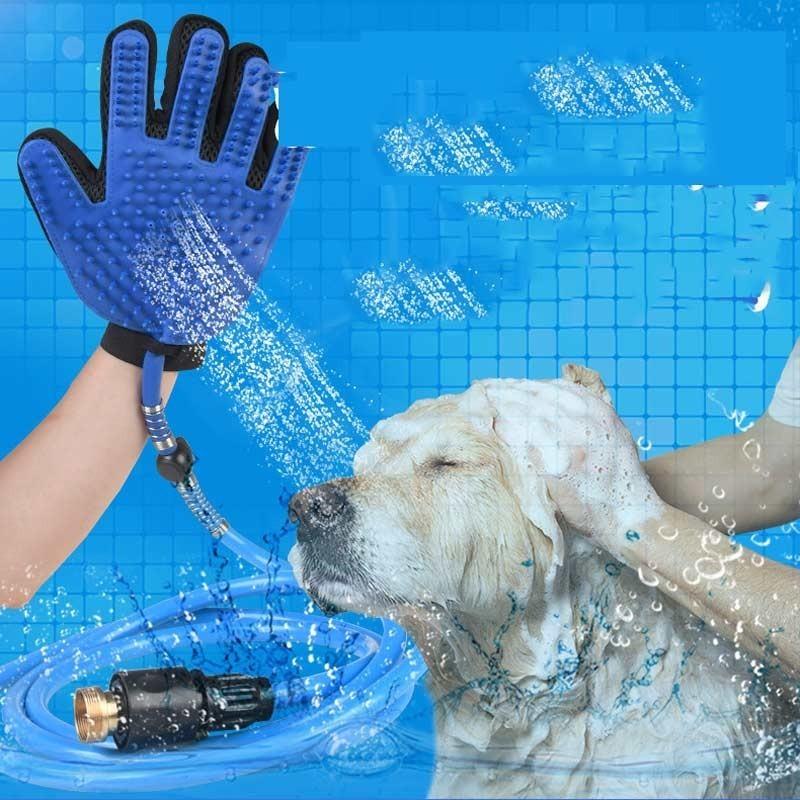 pet bathing tool bath hair washing