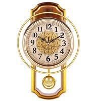 빈티지 진자 시계 벽 홈 장식 침묵 베스트 셀러 2018 제품 시계 초라한 세련된 reloj pared 그란데 홈 장식 50q082