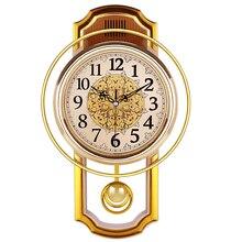 Reloj de péndulo Vintage, decoración del hogar, silencioso, superventas, 2018 productos, Reloj Shabby Chic, Reloj, Pared Grande, decoración del hogar 50Q082