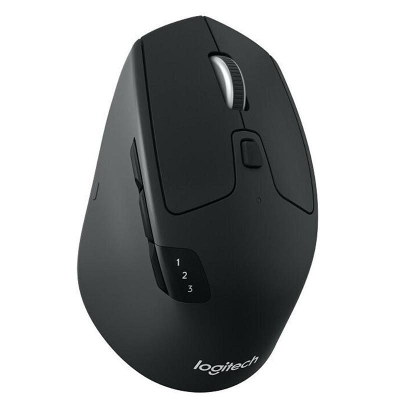 Logitech M720 Triathlon multi-dispositif souris sans fil Bluetooth 2.4 GHz sans fil double mode connexion bureau maison à l'aide de souris souris