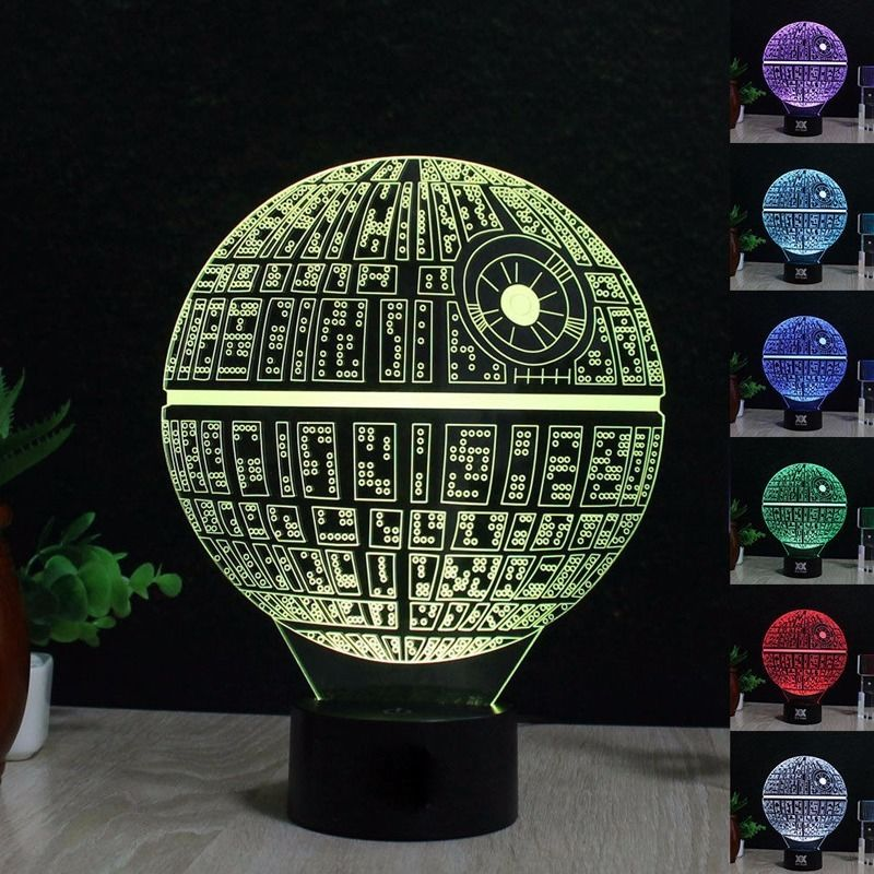 2019 Hot 3D Lamp Death Star War Darth Vader Stormtrooper Knight LED Table Night Light Lamp Multicolor Cartoon Toy Luminaria2019 Hot 3D Lamp Death Star War Darth Vader Stormtrooper Knight LED Table Night Light Lamp Multicolor Cartoon Toy Luminaria