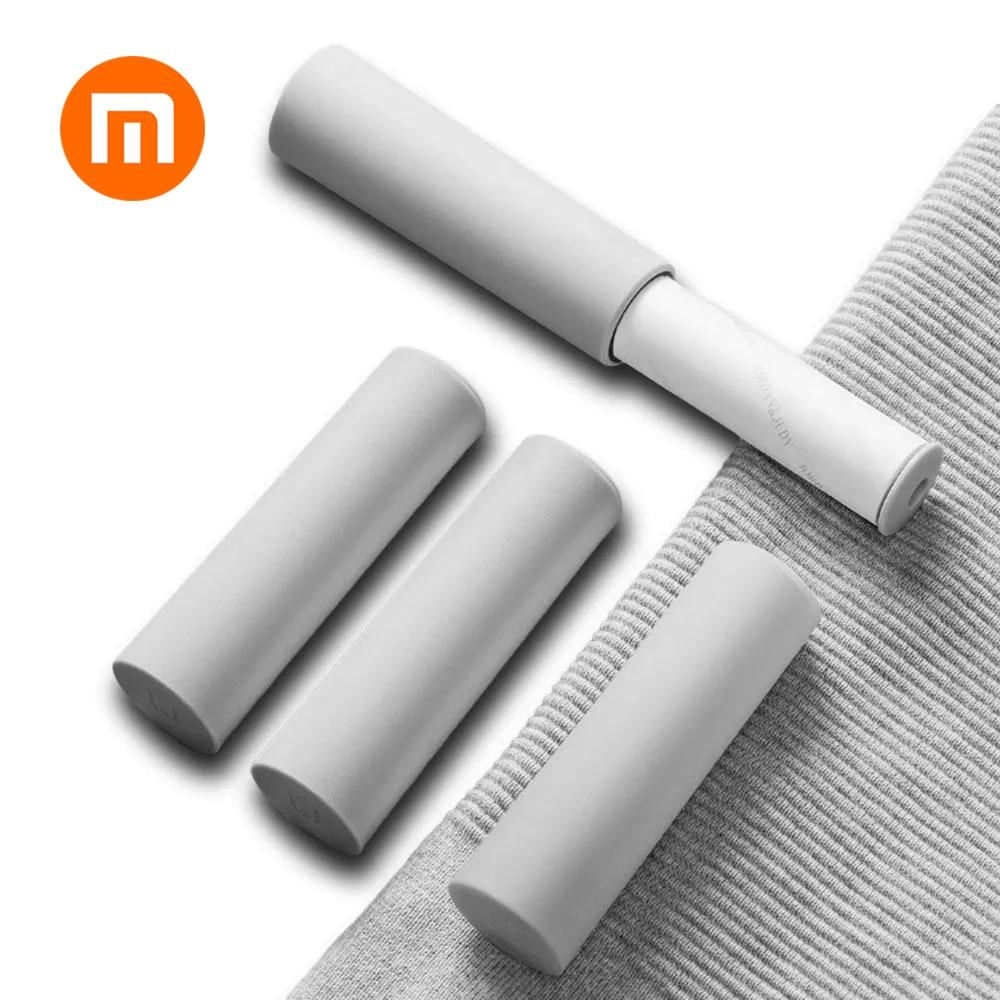 Original Xiaomi Jordan&Judy Portable Clothing Hair Sticker 5pcs Replaceable Sticky Paper Roller Clothing Hair Sticker Smart
