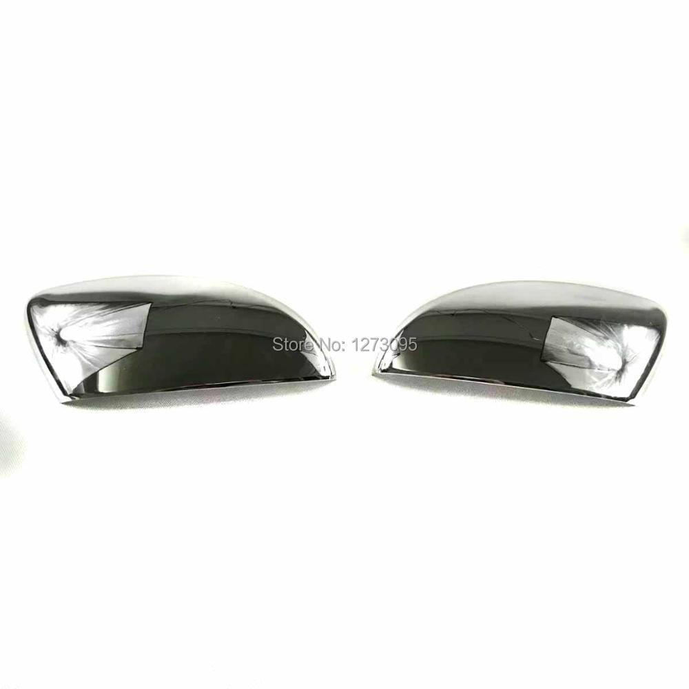 For Volkswagen Passat 2016 2017 2018 ABS Door Side Wing Mirror Cover Rearview Mirror Protector Trim Car Styling Accessory 2 pieces car styling door side rearview mirror cover trim abs for subaru forester 2009 2010 2011 2012