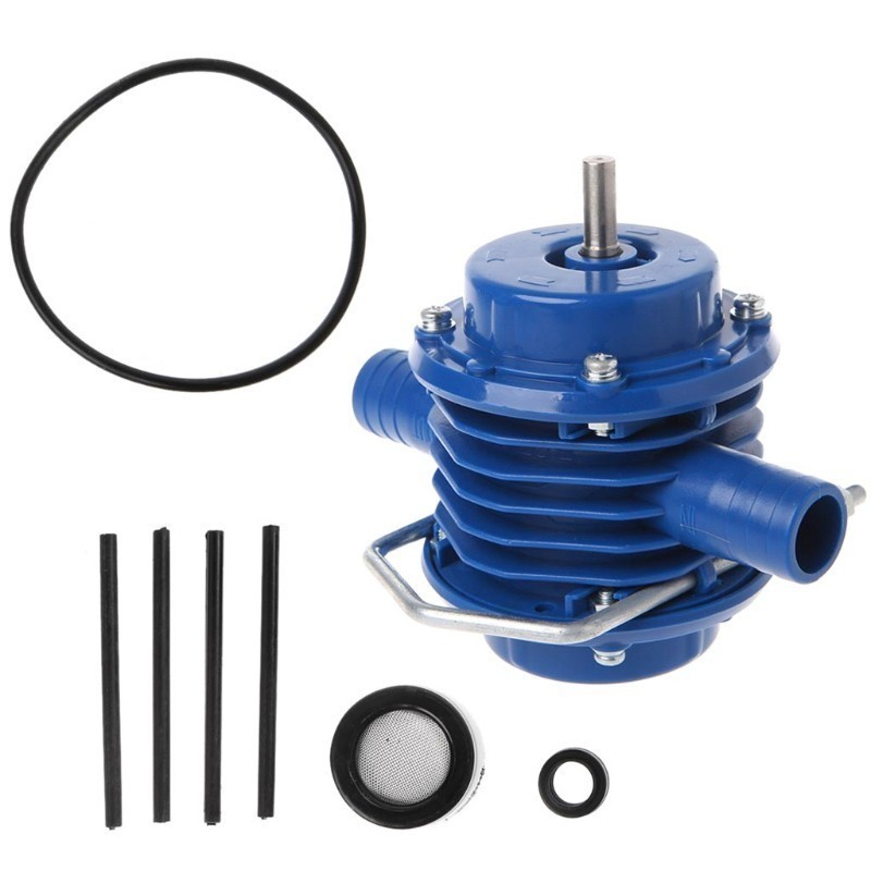 Image 5 - Outdoors Heavy Duty Self Priming Hand Electric Drill Water Pump Mini Submersibles Motor Ultra Home Garden Centrifugal PumpPumps   -