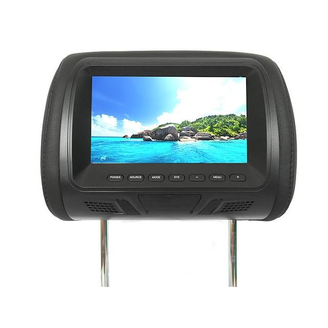 Car Universal 7 Inch Rear Car Headrest Type Hd Digital Screen Image Lcd