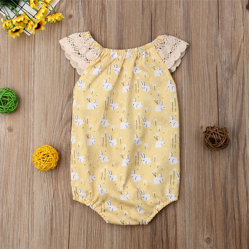 f76207bd2 Detail Feedback Questions about 2019 My 1st Easter Newborn Baby Girls  Romper Bodysuit Sunsuit Outfits Clothes Outfits Clothes Set roupas infantis  menina on ...