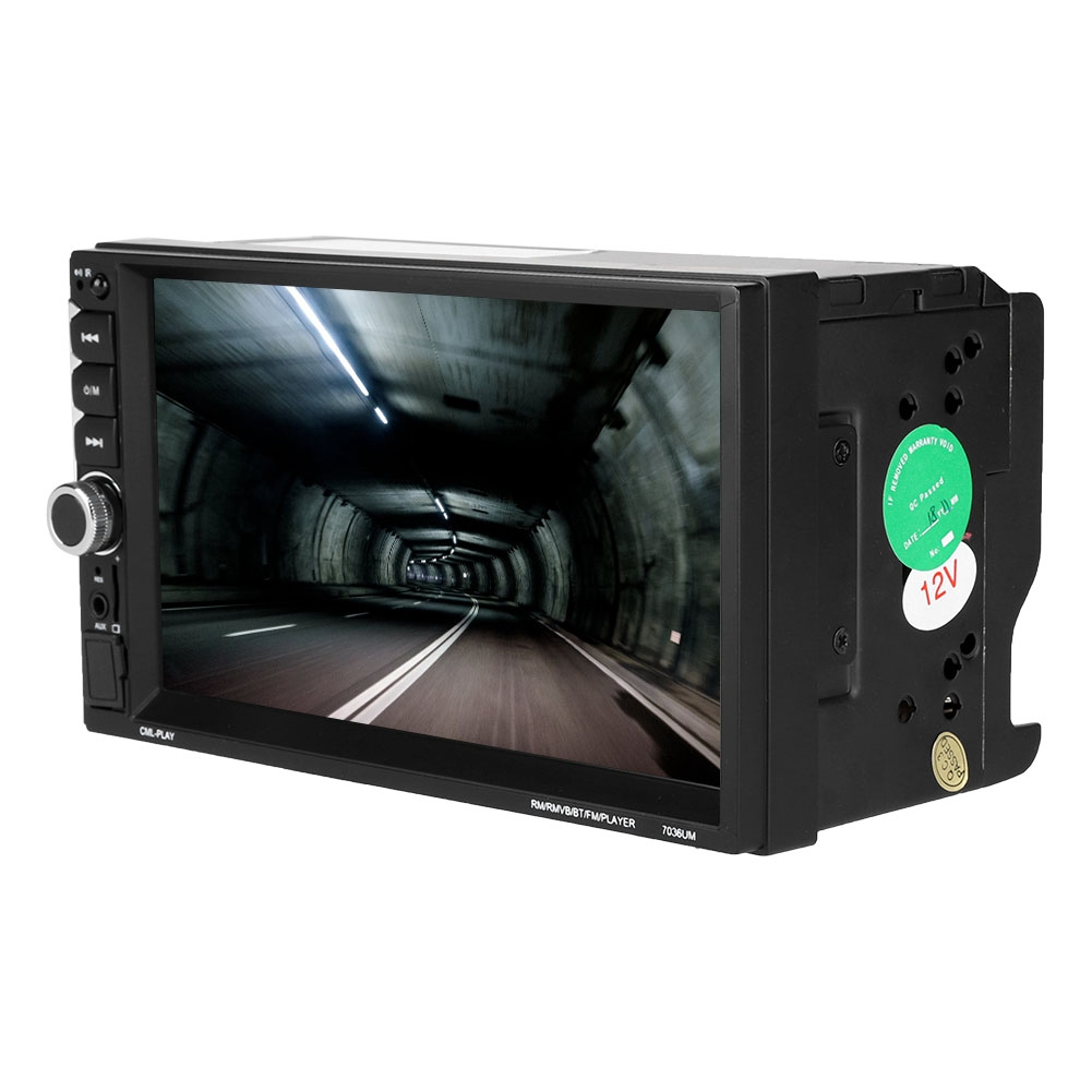 Tragbares Audio & Video karte Heißer Verkauf Unterhaltungselektronik Treu 7 Zoll 2din Mp5-7036um Auto Radio Bluetooth Mp5 Mp4 Player Touch Screen Auto Multimedia Unterstützung U-disk/tf