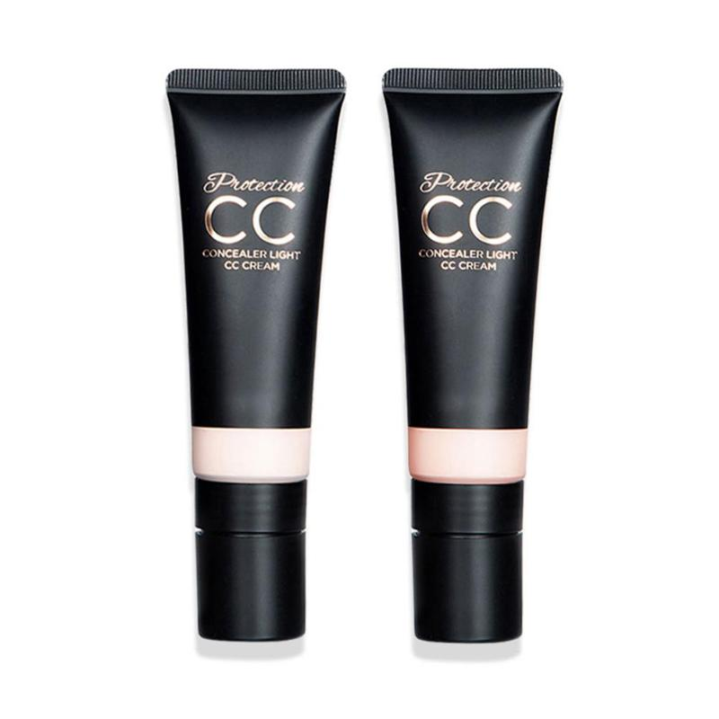 Makeup CC Cream Face Care Oil control Whitening Eye Dark Circles Moisturizing Foundation Base Concealer in BB CC Creams from Beauty Health