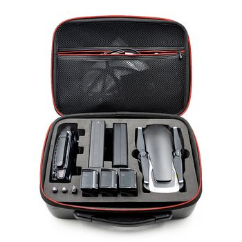 Waterproof Storage Bag Hardshell Handbag Case for Carrying DJI MAVIC Air Drone & 3 Batteries and Accessories Carry Bag Portable 1