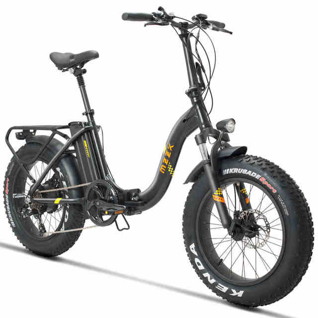Daibot Adult Electric scooter Two Wheels Electric Scooters 20 inch Mountain Bike 48V 500W Folding Electric Bike Bicycle