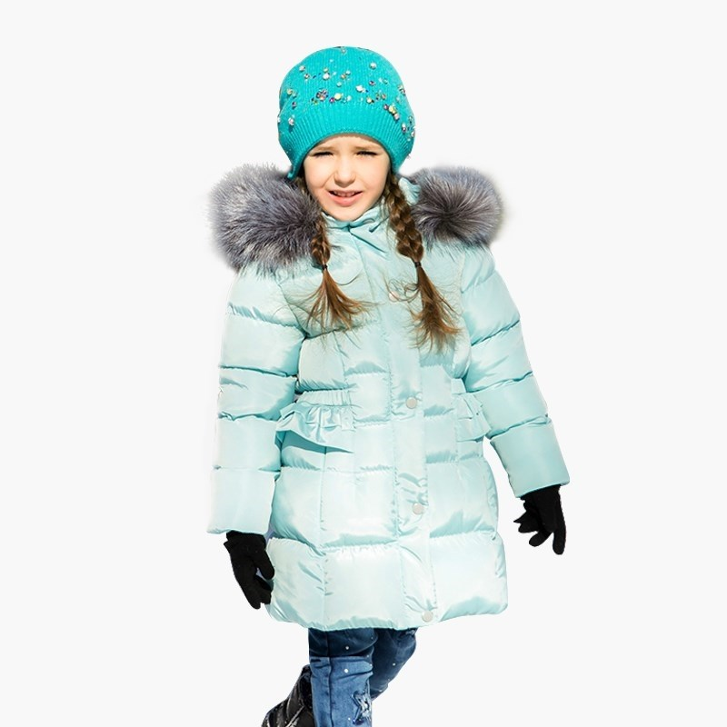 Down & Parkas Sweet Berry Sewing jacket for girls kid clothes 2016 children down coat winter baby boy padded jacket for girls parkas outerwear hooded cotton padded infant overcoat clothes