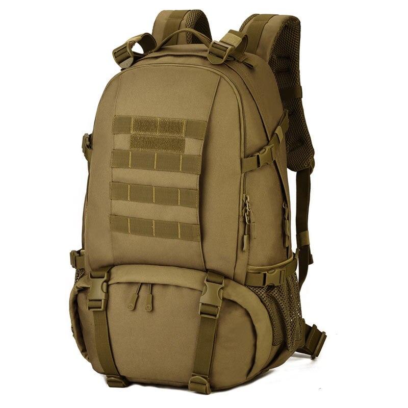 40L sac extérieur Camouflage militaire sac à dos sacs tactiques sport pochette d'ordinateur sacs à dos Camping Durable randonnée sacs de chasse grand