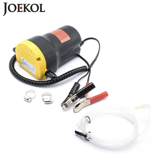 Car Engine Oil Pump 12V/24V Electric Oil/Diesel Fluid Sump Extractor Scavenge Exchange Fuel Transfer Suction Pump,Oil Change