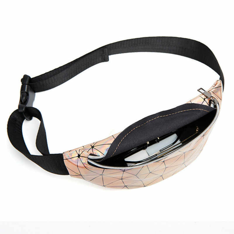 2019 HOT Women Bag Travel Waist Fanny Pack Holiday Money Belt Wallet PU Leather Mini Bum Bag Pouch Sport Fashion Chest Bag