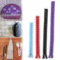 10Pcs 20-35cm Nylon Mixed Color Lace Edge Brass Zipper Puller For Tailor Sewer DIY Craft For Sewing Clothes Bag Backpack