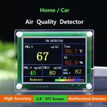 "2.8"" TFT Household PM2.5 Detector Module Air Quality Dust Sensor TFT LCD Display Monitor for Home/Car For ARM 32 Bit Chips(China)"