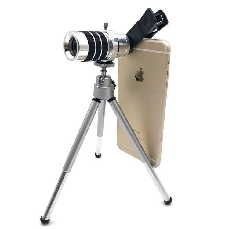 Bakeey 10x18 High Definition Phone Telescope Dual HD Optic Lens Monocular  High Definition phone lens for iphone for Samsung