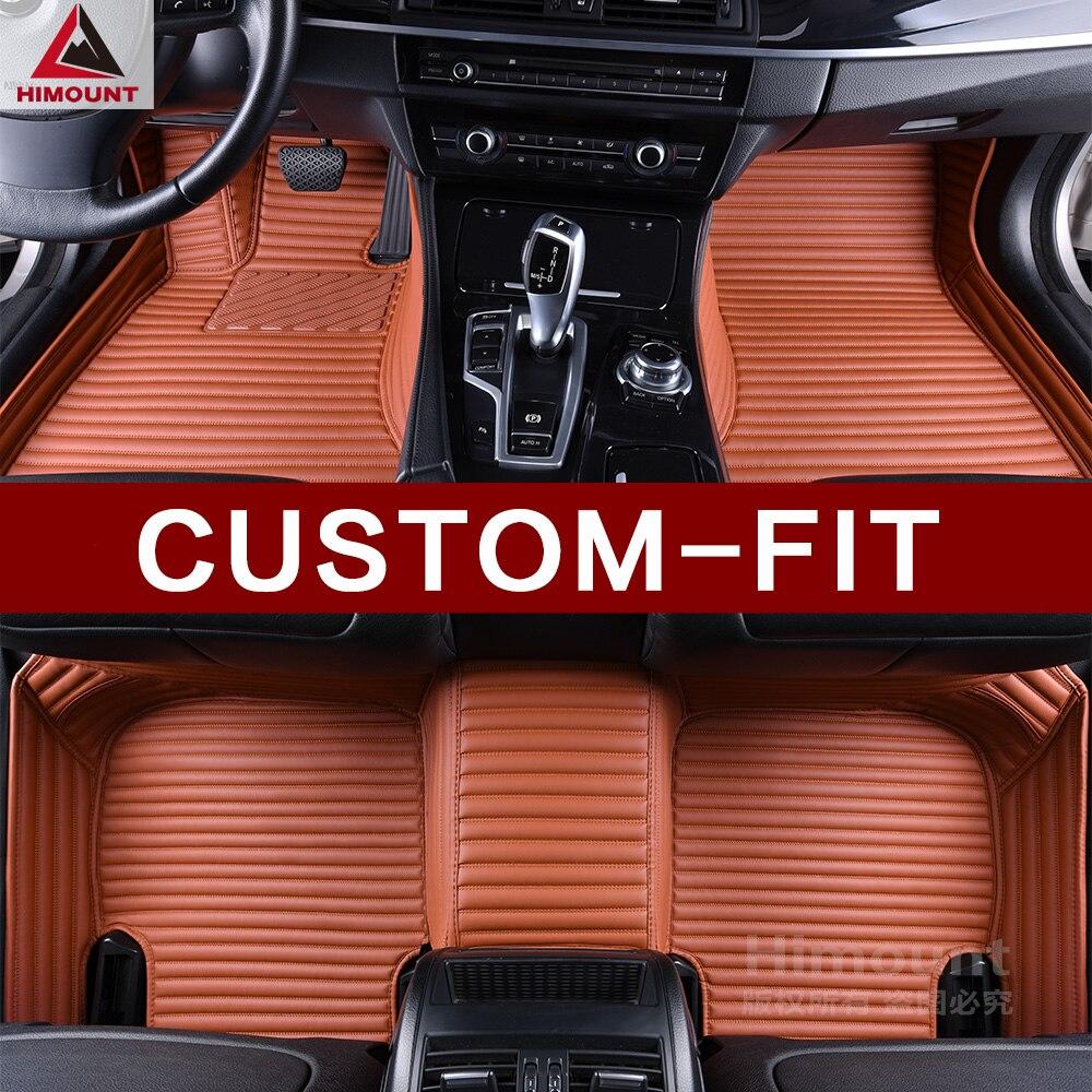 Su misura tappetini auto per Citroen C4 C3 C5 C6 DS4 DS5 DS6 DS7 DS 4 5 6 7 Crossback copertura completa di lusso tappeto tappeti fodere