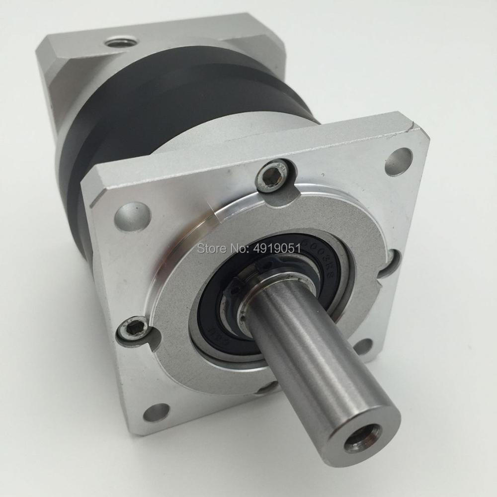 High Presicion 10:1 Planetary Gearbox Geared Head 14MM Output 12Nm Shaft matched with Nema24 Servo Motor Speed ReducerHigh Presicion 10:1 Planetary Gearbox Geared Head 14MM Output 12Nm Shaft matched with Nema24 Servo Motor Speed Reducer