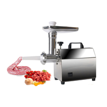 ITOP Electric Meat Grinder Household Commercial Sausage Maker Meats Mincer Food  Grinding Mincing Machine Vegetable Mincer multifunctional commercial stainless steel electric meat grinder machine small business ground meat machine mincer machine
