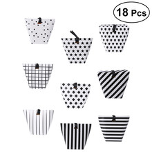 18Pcs Gift Wrap Storage Candy Boxes Polka Dot Dessert Treat Boxes for Holiday Favors Birthday Gift Wedding(China)