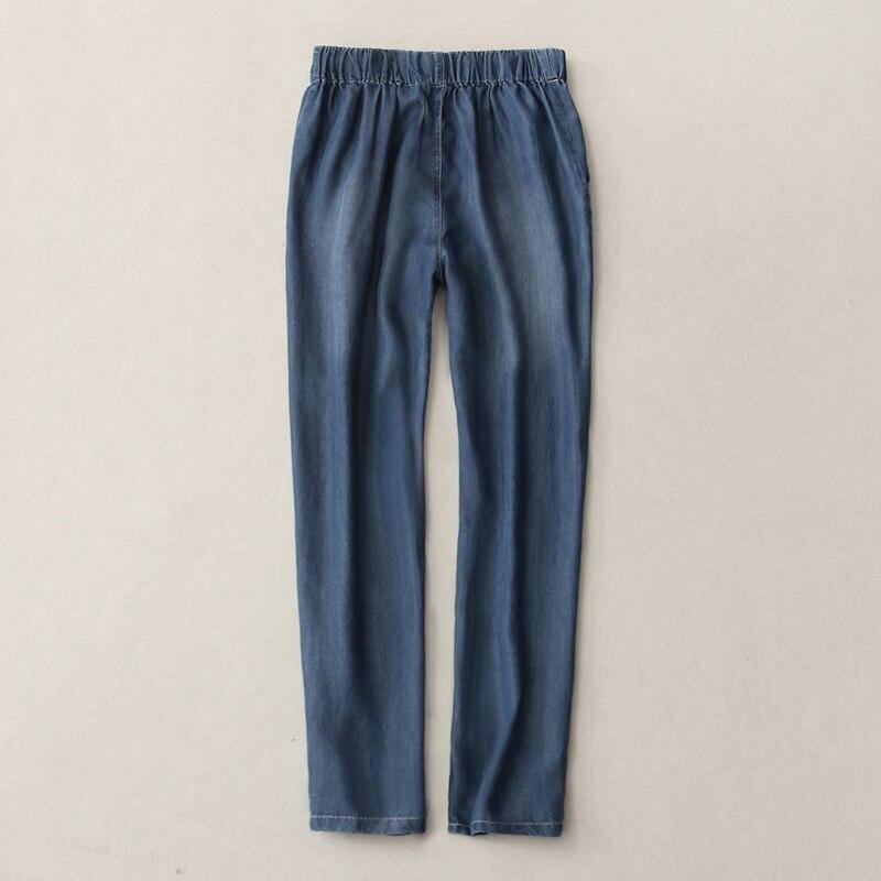 Women Denim Pants 2019 Spring Summer Fashion Female Casual Thin High Waist Jeans Demin Harem Pant Trousers Plus Size 3XL