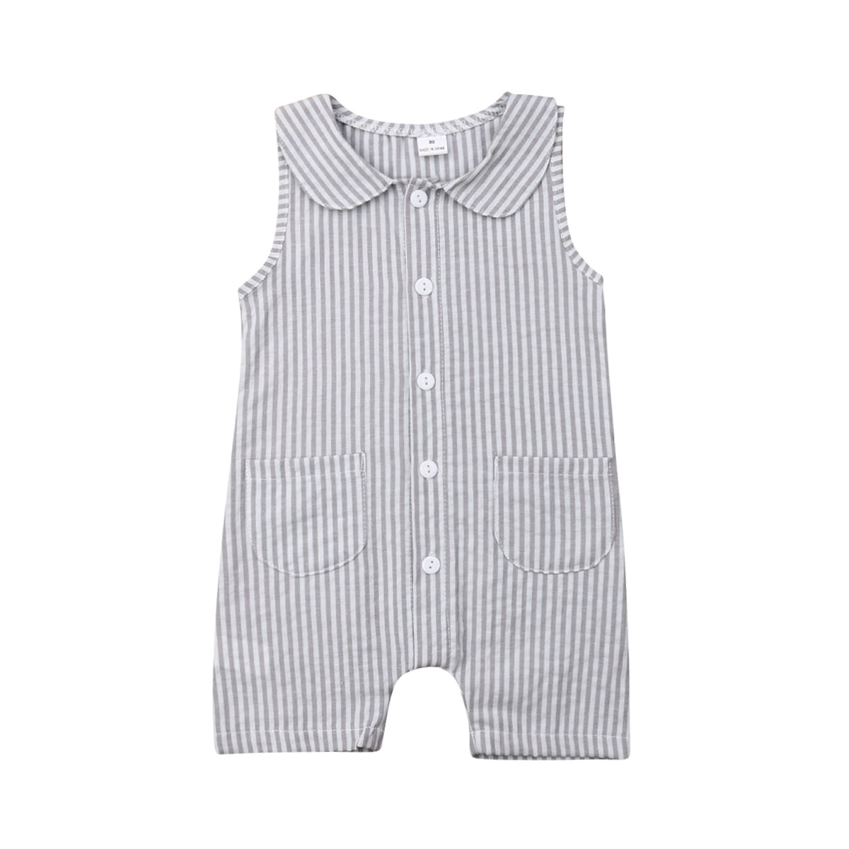 2019 Newest Style Newborn Baby Girls Spring Summer Sleeveless Adorable Romper Jumpsuit Clothes Outfit One Piece 0-24months Quality First
