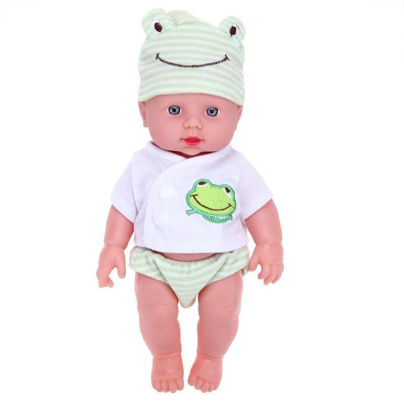 30 Cm Pasgeboren Dier Vorm Pop Baby Simulatie Zacht Vinyl Poppen Kinderen Kleuterschool Levensechte Speelgoed Voor Kinderen Meisjes Gift