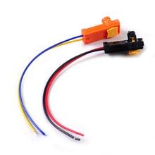 2 шт провода коннектора подушки безопасности Замена Заводной адаптер вилки автомобиля для Kia