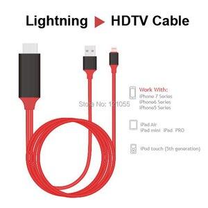 Image 5 - USB hdtv مربع ل البرق HDMI كابل iphone X/XS/8 زائد/7/6 s/6/5 s تحويل بود ipad إلى التلفزيون عارض فيديو AV الرقمية محول