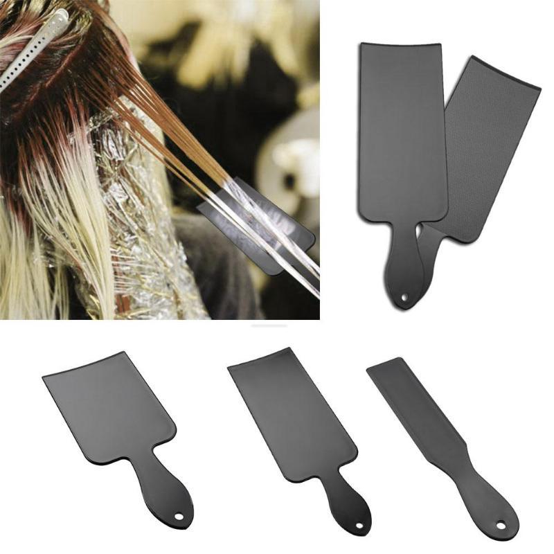 1pcsPro волосы умирают доска для DIY парикмахерские Палочки раскраски для укладки волос салон Инструменты Парикмахерские ножницы парикмахера ф...