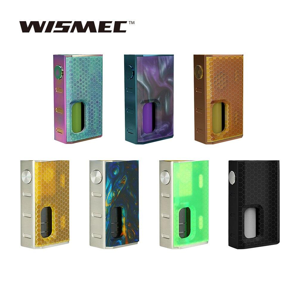 Original Wismec LUXOTIC BF boîte Mod 100 W mécanique squonk Mod intégré 7.5 ml rechargeable bouteille Vape boîte mod Cigarette électronique