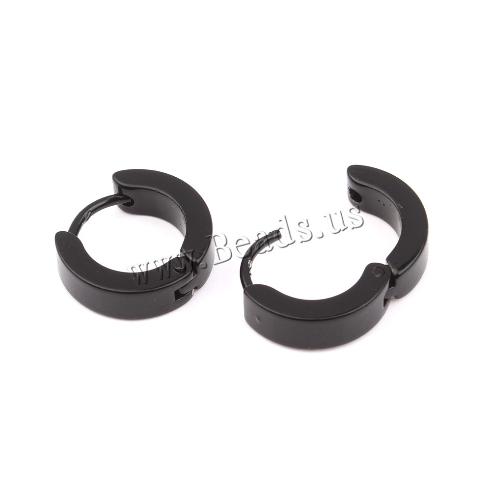 835a92a5411ce4 1 Pair Punk Hip Hop Male Women Stainless Steel Gold/Silver/Black Hoop  Earrings Small Round Loop Circle Earrings fashion jewelry - a.kataj.me