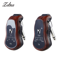 Wireless Guitar System Transmitter & Receiver Built in Rechargeable 5 In1 Wireless Guitar Effects Bluetooth for Electric Guitars