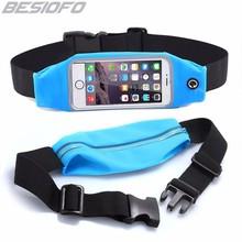 Universal Sport Accessories Gym Waterproof Waist Bag Belt Pouch Phone Case For Xiaomi