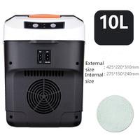 Автомобильный холодильник автомобильный домашний двойной использование мини холодильное оборудование Холодильный теплый маленький холо