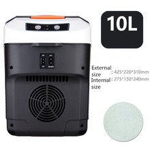 Car Refrigerator Car Home Dual-Use Mini Refrigeration Refrigeration Warm Small Refrigerator 12v24V mini refrigerator 20l dual cooling small refrigerator mini small household mini cosmetic mask car dormitory