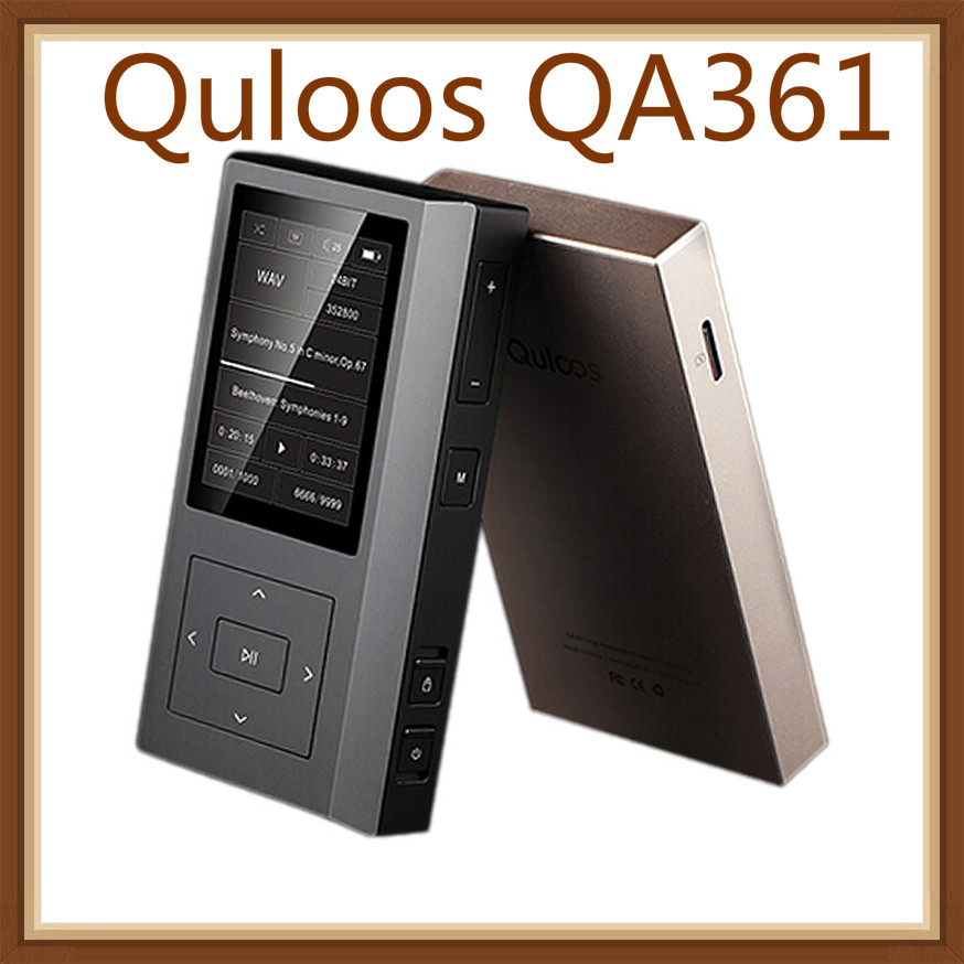 Quloos QA361 AK4495SEQ 6OPA1622 HiFi DSD Music Dual Femtosecond Clock Lossless MP3 Portable Music Player